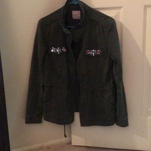 Green combat jacket!!